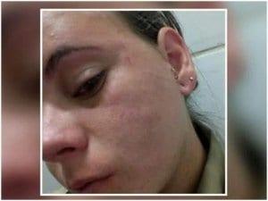 Mais de 10 mil pessoas acessaram o perfil no Facebook da agente Edvânia Nayara, de 23 anos, após a circulação do vídeo, nesse fim de semana, em que ela aparece sendo agredida em um clube recreativo de Três Corações, no interior de Minas Gerais.