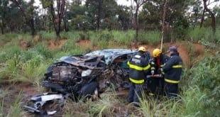 MG - Acidente envolvendo cinco carros deixa dois mortos em Curvelo