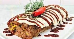 Gastronomia - Que tal preparar rocambole de carne moída?