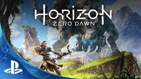 1º lugar: Horizon: Zero Dawn - lançamento em 28 de fevereiro para PS4
