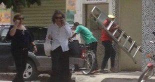 No último fim de semana Cármen Lúcia visitou o pai em Espinosa (foto: Flavio Nunes/divulgação)