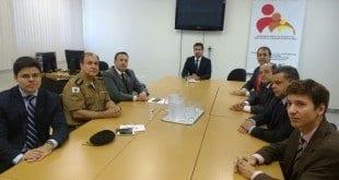 Montes Claros - Comandante da 11ª RPM participa de reunião com Promotores de Justiça no MP
