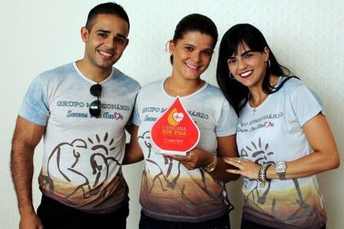 Grupo vencedor Servos por Amor