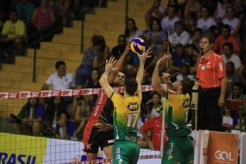 Vôlei - Montes Claros vôlei perde no tie-break e volta atenção para Sul-Americano
