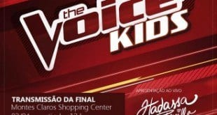 Cultura Moc - Transmissão da final do The Voice Kids no Montes Claros Shopping