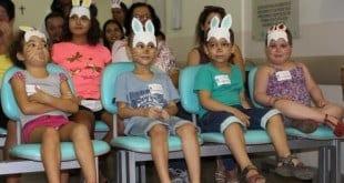 Montes Claros - Crianças da oncologia da Santa Casa, ganham festa da Páscoa