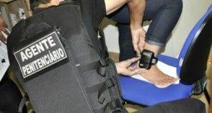 MG - Um em cada cinco presos viola tornozeleira eletrônica