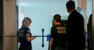 Agentes da Polícia Federal estão em um imóveis de Aécio Neves em Belo Horizonte e no Rio