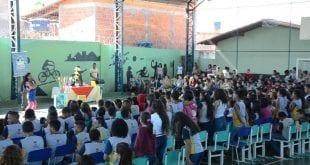 Cultura Moc - Trilha da Leitura apresenta teatro e entrega premiação