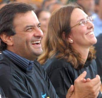 Aécio Neves e Andréa Neves