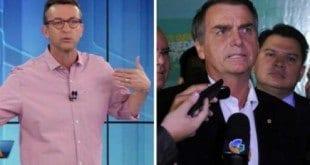 Neto atacou falas homofóbicas de Bolsonaro e parlamentar questionou ideologia política do ex-jogador