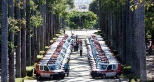 Desde 2015, o governo do Estado já entregou mais de 550 ambulâncias às prefeituras