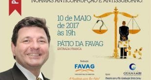 Norte de Minas - Advogado dará palestra gratuita sobre Compliance em em Nova Porteirinha