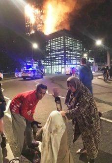 Europa - Sobreviventes de incêndio em Londres relatam momentos de desespero