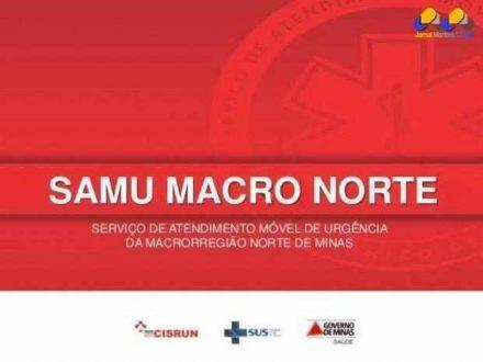 Montes Claros – Plantão SAMU 22/06/2017