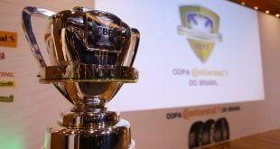 Copa do Brasil - CBF sorteia mandos e Cruzeiro decidirá em casa contra o Grêmio