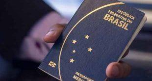 Lei que libera verba para emissão de passaporte é publicada