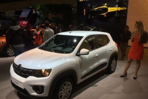 Renault Kwid é a principal atração do salão; novo popular estreia em julho no Brasil custando a partir de R$ 29.990