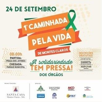 Montes Claros - Santa Casa de Montes Claros promove Semana de Conscientização sobre Doação de Órgãos