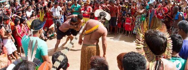 Jogos buscam promover o esporte socioeducacional nas aldeias indígenas mineiras como instrumento de fortalecimento da identidade das culturas tradicionais