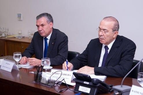 O encontro foi coordenado pelo presidente da Frente Parlamentar da Assistência Técnica e Extensão Rural da Câmara, deputado federal Zé Silva