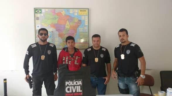 Norte de Minas - Polícia Civil prende homem que colocou uma arma na cabeça de uma criança de 10 anos - Fot: Polícia Civil de Minas Gerais (PCMG)