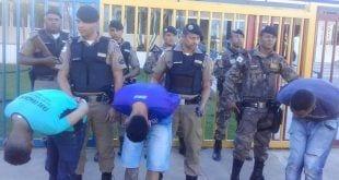 Montes Claros - Homens envolvidos em latrocínio no centro de Montes Claros são presos em Montes Claros - Foto: DIANA MAIA