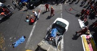 México - Sobe para 224 o número de mortos em terremoto no México