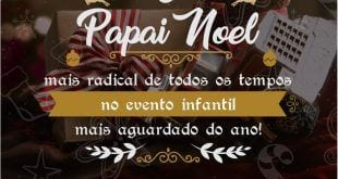 Chegada do Papai Noel abre programação natalina do Montes Claros Shopping