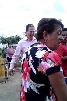 Montes Claros - Deputada Federal Raquel Muniz é xingada durante visita ao cemitério no dia de Finados