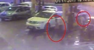 Kelly Camaduro passou dirigindo o carro dela com um homem ao lado, mostram imagens