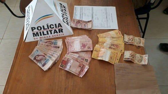 Norte de Minas - Jovem de 20 anos compra notas falsas pela internet e é preso no Norte de Minas