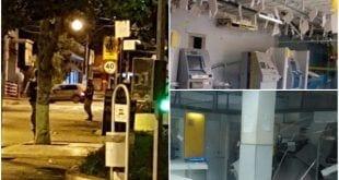 MG - Bando fortemente armado explode agência, ataca quartel e mata policial