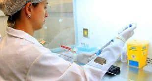 A pesquisadora Paula Pederzoli desenvolve estudo que reduz custos e tempo para transplante de células-tronco