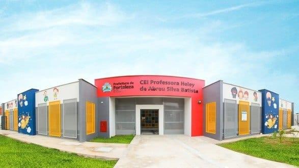 Creche inaugurada em Fortaleza recebe nome de professora morta em incêndio em Janaúba