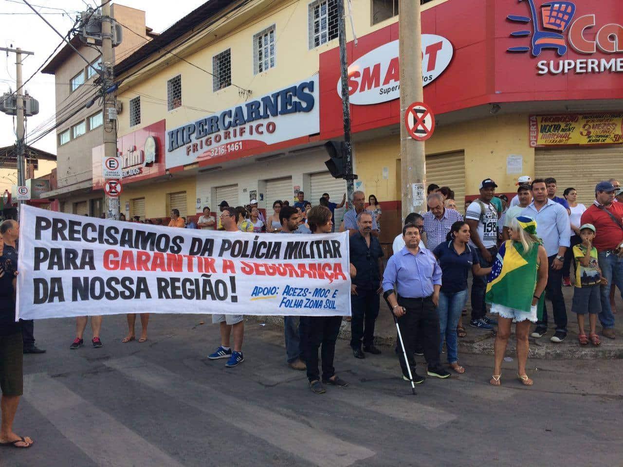 Montes Claros - Vereadores lutam pela permanência da 67ª Companhia da PM no Major Prates - Foto: Thiago Silva