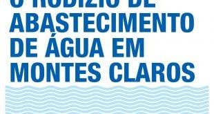 Montes Claros – Saiba como a Copasa adotará o rodízio a partir desta terça-feira (30) em toda Montes Claros