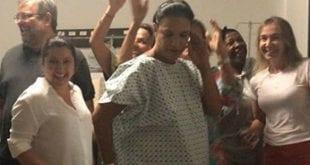 Cantora Ivete Sangalo deu entrada na madrugada do sábado de carnaval para dar a luz de gêmeas - Reprodução Instagram