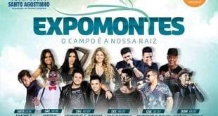 Expomontes 2018, uma programação de shows para superar todas as outras