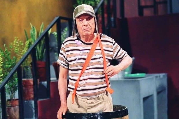 Chaves é exibido há 33 anos na emissora de Silvio Santos
