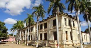 A antiga escola naval está localizada no município do Norte de Minas