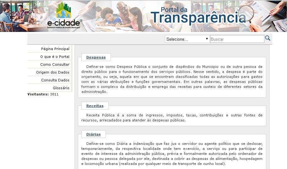 Montes Claros - ABO apresenta novo modelo de Portal da Transparência à Câmara Municipal