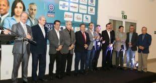 Autoridades e parceiros no lançamento da 23 Fenics - Foto: Solon Queiroz