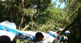 Aeronave da FAB faz pouso de emergência no bairro São Geraldo II em Montes Claros