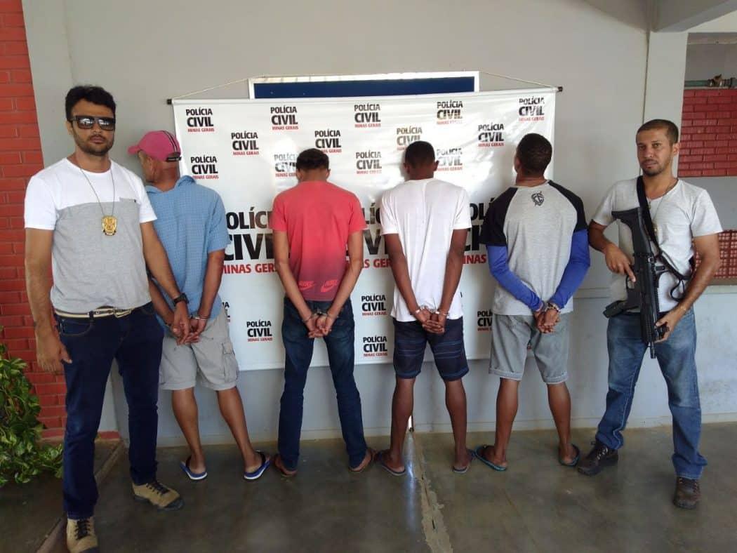 Norte de Minas - Polícia Civil prendem suspeitos de latrocínio em Porteirinha