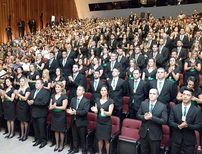 Mais de 90 investigadores participaram de solenidade no auditório JK, na Cidade Administrativa