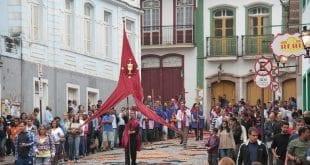 Procissão da Ressurreição - Ouro Preto/MG. Acervo Prefeitura de Ouro Preto/MG