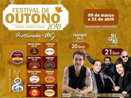 Norte de Minas - Porteirinha realiza festival de outono com concursos de música e de sabores de boteco