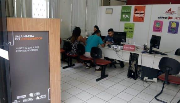 Sala Mineira do Empreendedor reduz burocracia para micro e pequenos empresários em Montes Claros