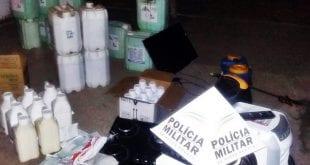 Polícia Militar apreende insumos agrícolas avaliados em R$ 50 mil no Norte de Minas